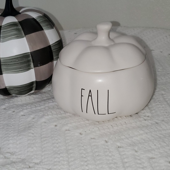 Rae Dunn Other - Rae Dunn by Magenta Fall pumpkin dish